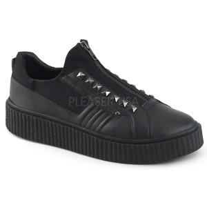 Canvas 4 cm SNEEKER-125 sneakers creepers skor för män