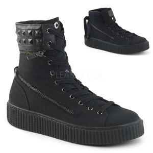 Canvas 4 cm SNEEKER-270 sneakers creepers skor för män