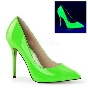 Grön Neon 13 cm AMUSE-20 Dam Pumps Stilettskor