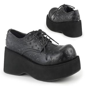 Konstläder 8 cm DANK-111 lolita skor goth platåskor