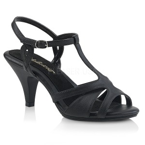 Konstläder 8 cm Fabulicious BELLE-322 kvinnor sandaler med låg klack