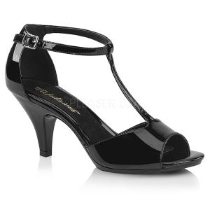 Lackläder 8 cm Fabulicious BELLE-371 högklackade sandaletter