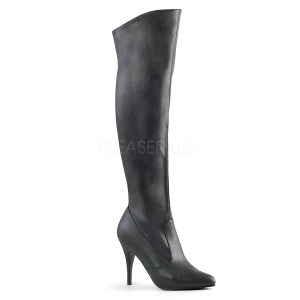 Leatherette 10 cm VANITY-2013 Women Knee Boots