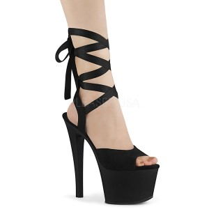Leatherette 18 cm SKY-334 platform pleaser sandals