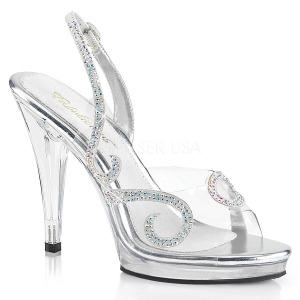 Rhinestones 11,5 cm FLAIR-457 high heeled sandals