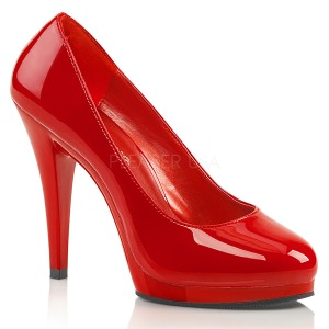 Röd 11,5 cm FLAIR-480 damskor med hög klack
