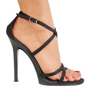 Svart 11,5 cm GALA-41 Högklackade skor med stilettklack