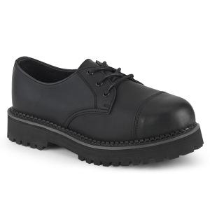Vegan RIOT-03 demonia punk skor - unisex ståltå skor