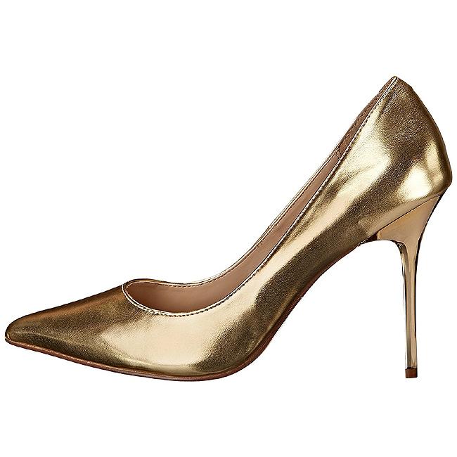 Gold Matte 10 cm CLASSIQUE-20 Women Pumps Shoes Stiletto Heels 418bf1029c