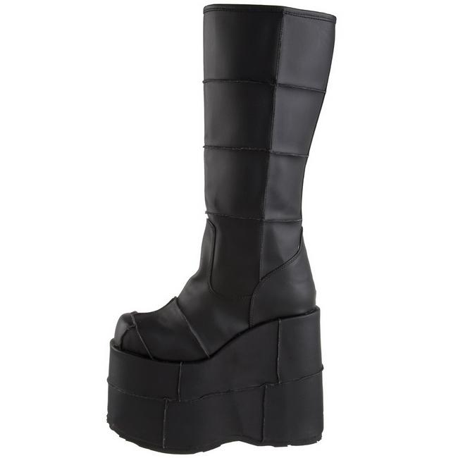 5f2a73d791d Matte 18 cm STACK-301 Platform Mens Gothic Boots