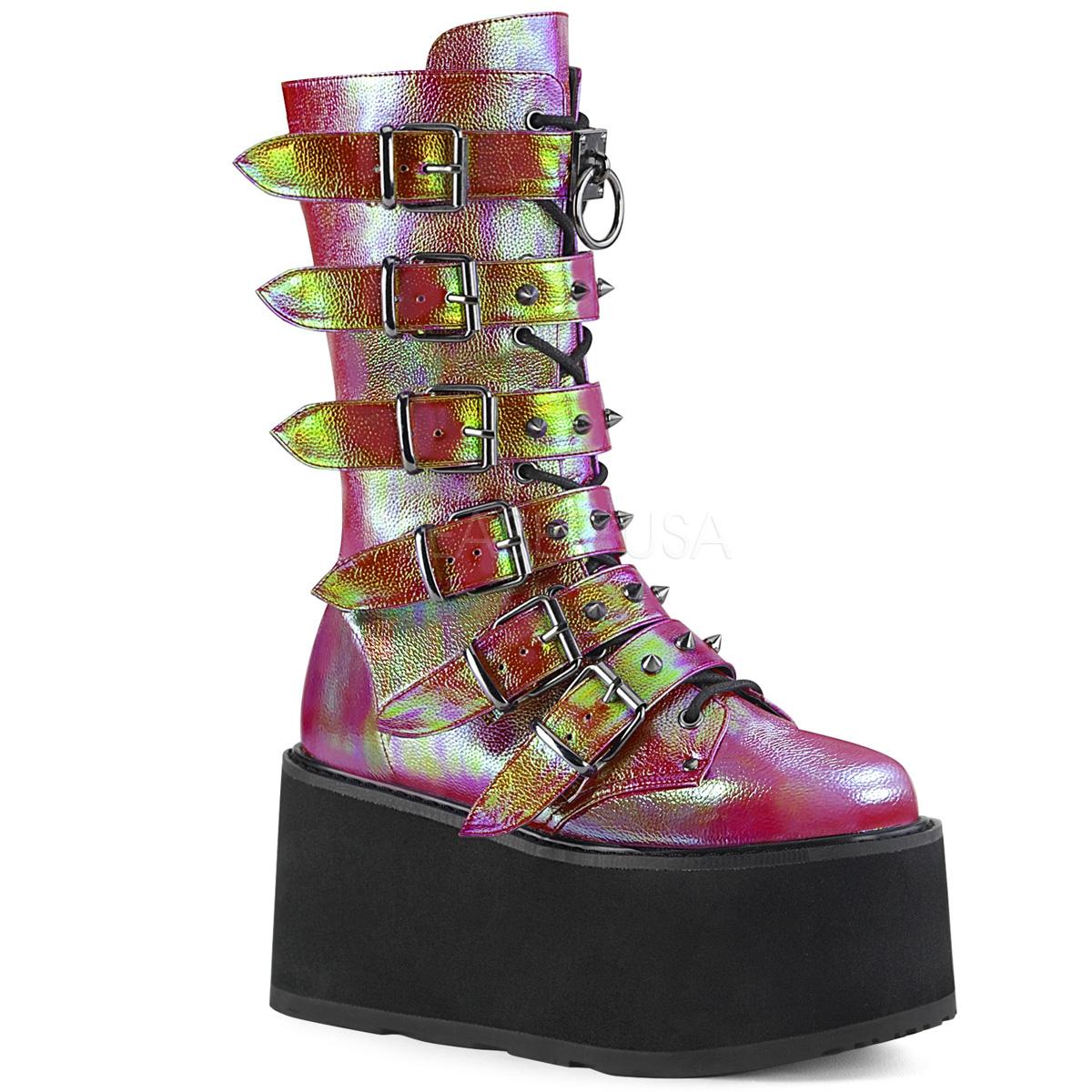 Köp Kuling Shoes, Gummistövlar, Regnbåge, Cerise Lekmer.se
