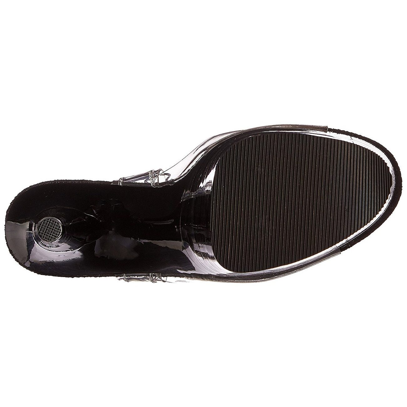 Transparent 20 cm FLAMINGO 808LN platå klackar skor