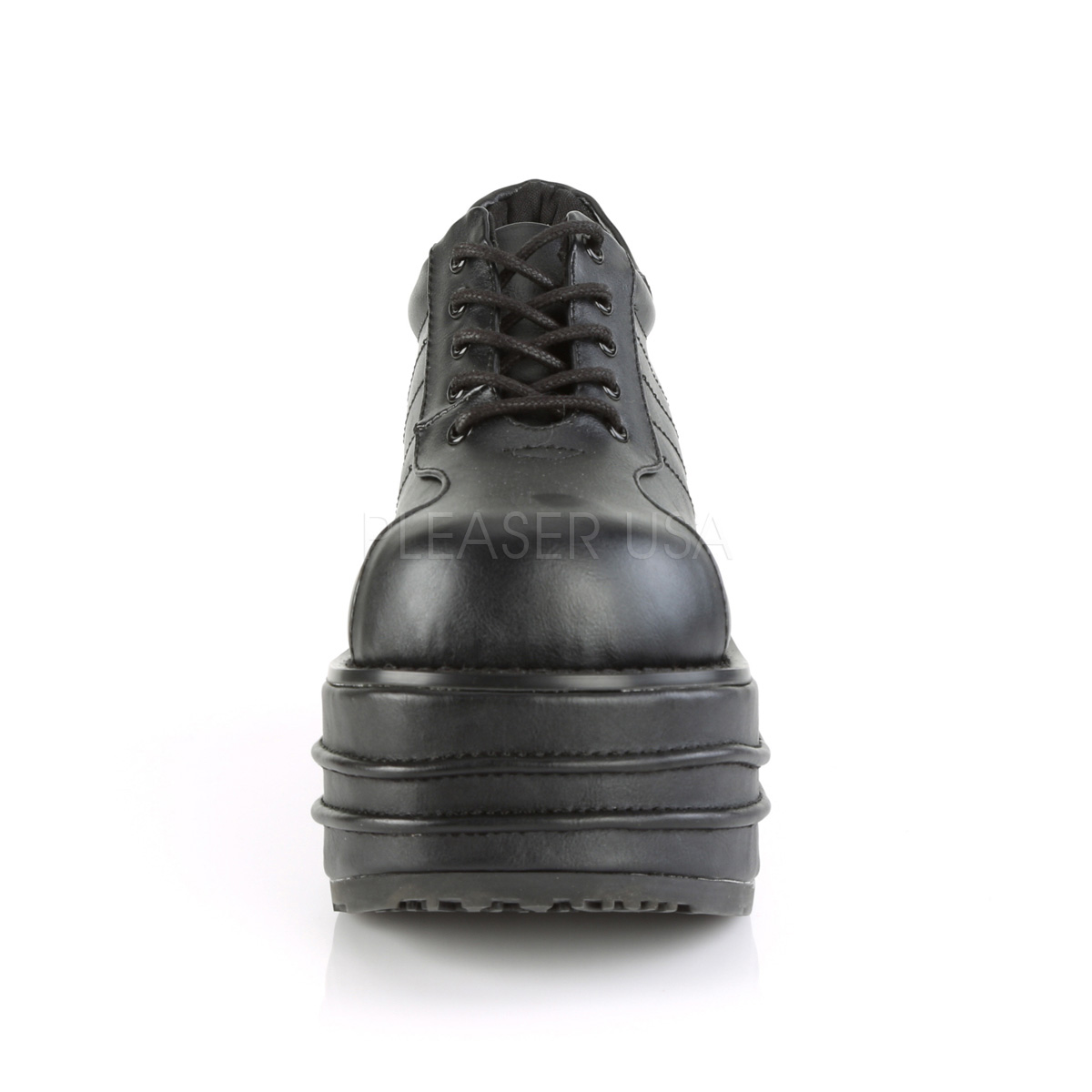 Vegan 9 cm TEMPO 08 Platå Goth Skor för Män