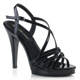 Black 11,5 cm FLAIR-413 Fabulicious High Heeled Sandal
