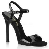 Black 11,5 cm GALA-09 fabulicious stiletto heel sandals