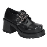 Black 7 cm TRUMP-101 lolita shoes gothic womens platform shoes