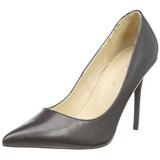 Black Matte 10 cm CLASSIQUE-20 Pumps High Heels for Men