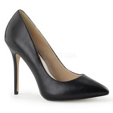 Black Matte 13 cm AMUSE-20 Women Pumps Shoes Stiletto Heels