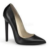 Black Matte 13 cm SEXY-20 pointed toe stiletto pumps