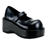 Black Matte 8,5 cm DOLLY-01 Goth Platform Pumps Shoes