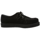 Black Suede 2,5 cm CREEPER-602S Mens Creepers Shoes