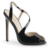 Black Varnished 13 cm SEXY-10 Women Pumps Shoes Stiletto Heels