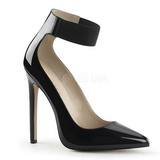 Black Varnished 13 cm SEXY-33 Women Pumps Shoes Stiletto Heels