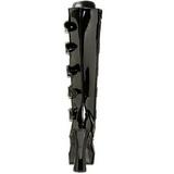 Blanka 13 cm ELECTRA-2042 höga platåstövlar dam med spännen