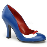Blue 10,5 cm SMITTEN-05 Womens Shoes with High Heels