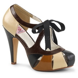 Brown 11,5 cm BETTIE-19 Womens Shoes with High Heels