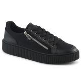 Canvas 4 cm SNEEKER-105 sneakers creepers skor för män