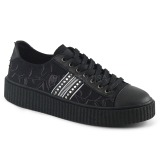 Canvas 4 cm SNEEKER-106 sneakers creepers skor för män