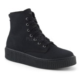 Canvas 4 cm SNEEKER-201 Mens sneakers creepers shoes
