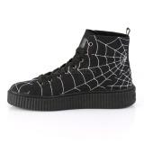 Canvas 4 cm SNEEKER-250 sneakers creepers skor för män