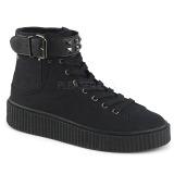 Canvas 4 cm SNEEKER-255 sneakers creepers skor för män