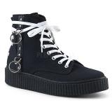Canvas 4 cm SNEEKER-256 sneakers creepers skor för män