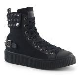 Canvas 4 cm SNEEKER-266 sneakers creepers skor för män