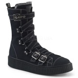 Canvas 4 cm SNEEKER-318 Mens sneakers creepers shoes