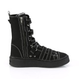 Canvas 4 cm SNEEKER-318 sneakers creepers skor för män