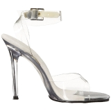 Clear 11,5 cm GALA-06 High Heeled Stiletto Sandal Shoes