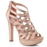 Copper 11,5 cm Pleaser SELENE-24 Womens High Heel Sandals