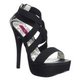 Elastiskt band 14,5 cm TEEZE-47W high heels för män med breda fötter
