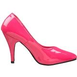 Fuchsia Shiny 10 cm DREAM-420 Pumps High Heels for Men
