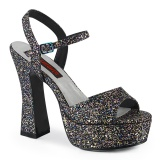 Glitter 13 cm DOLLY-09 platform demonia chunky high heels shoes
