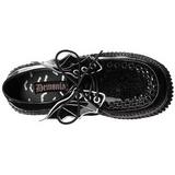 Glitter CREEPER-205 Platform Women Creepers Shoes
