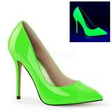 Green Neon 13 cm AMUSE-20 Women Pumps Shoes Stiletto Heels