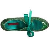 Grön Glitter 14,5 cm Burlesque TEEZE-10G Platform Pumps Skor