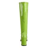 Grön Lack 7,5 cm Funtasma GOGO-300 Stövlar Dam