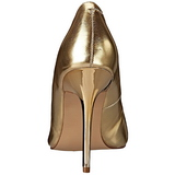 Guld Matt 10 cm CLASSIQUE-20 Dam Pumps Stilettskor