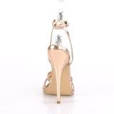 Guld Rosa 15 cm Devious DOMINA-108 högklackade sandaletter
